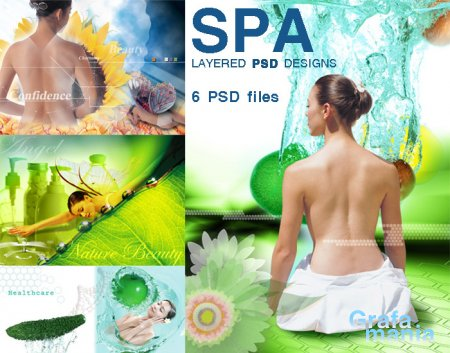 SPA Layered PSD designs