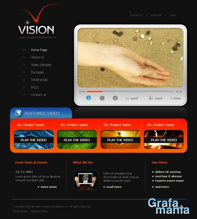 Template Monster 15771 Full