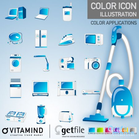 VitaminD - Color Icons - ��������� �������� ��� Illustrator