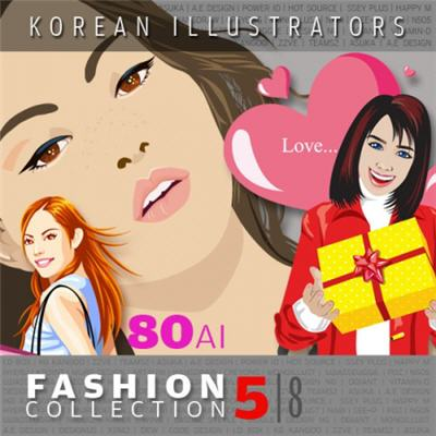 Vector Collections of Korean Illustrators - Fashion Collection 5