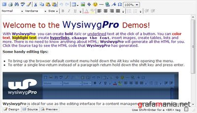 WysiwygPro 3 Plugin for Joomla [1.0 - 1.5]
