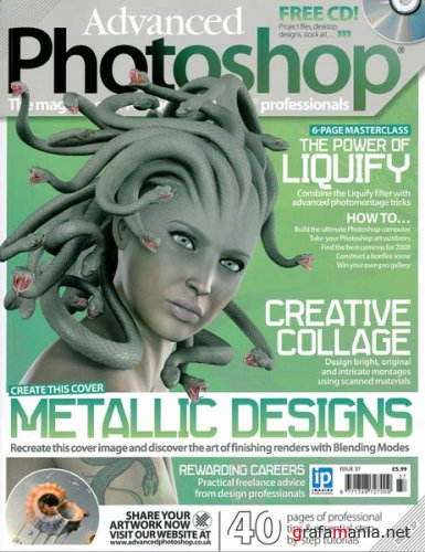 Журнал Advanced Photoshop Magazine 2007 (Issue 37)
