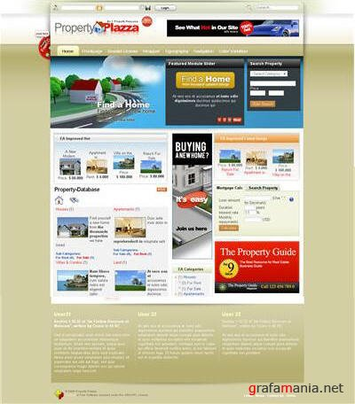 Property Plazza - May Joomla Template J1.0
