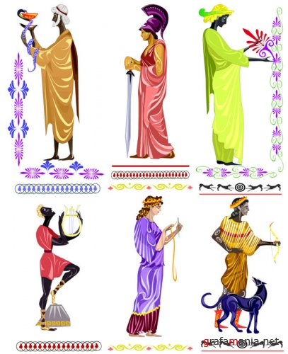 Greek Myths Vector
