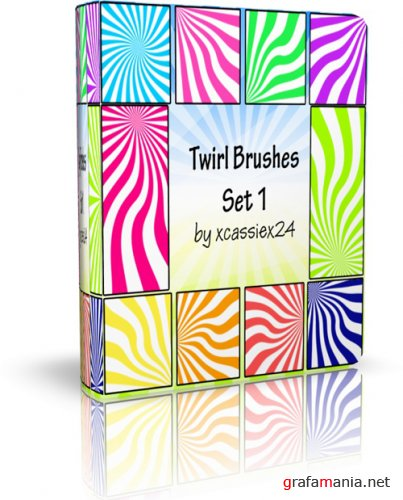 Ray end Twirl brushes
