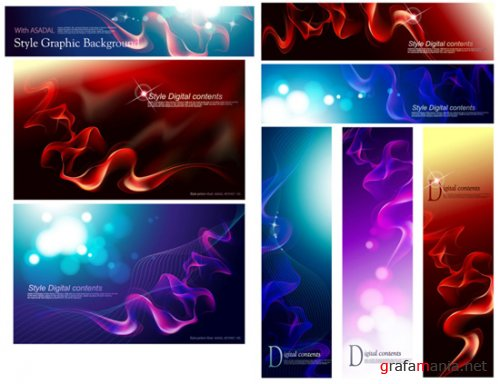 ASADAL Style Graphic Background 1