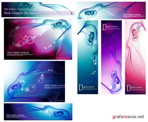 ASADAL Style Graphic Background 2