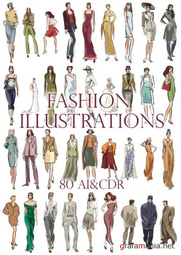 Fashion Illustrations Man & Woman