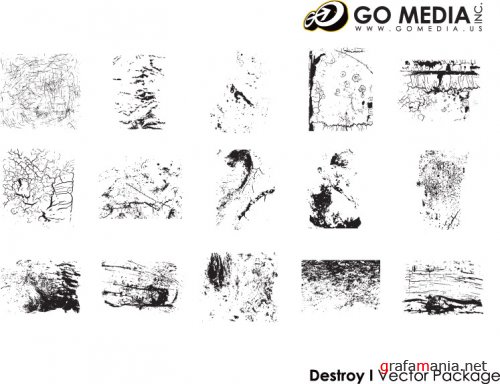 Vectors of Go Media's Arsenal (Collections 01)