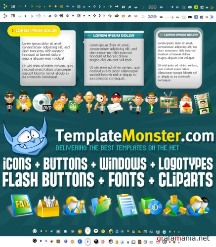 Template Monster Library