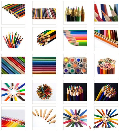 ������� ��������� (Colour pencils)