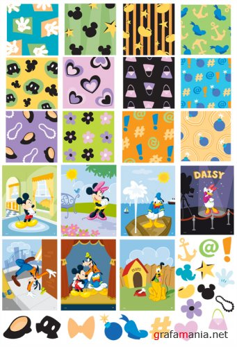 Disney Patterns and Scenes