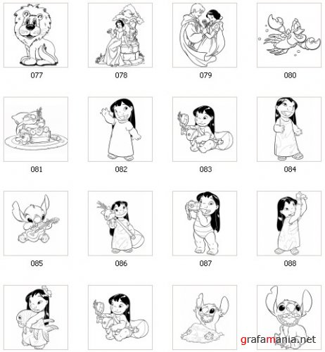 900 Disney Characters