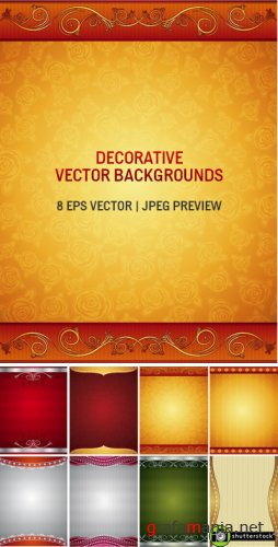 Decorative Vector Backgrounds