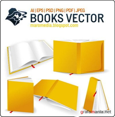 Maromedia Books Vector