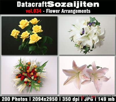 Datacraft Vol.034 - Flower Arrangements
