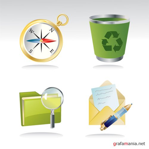 Shutterstock Vector Icon Set 2