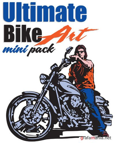 Vector Ultimate Bike Art