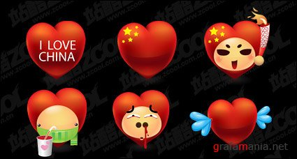 Love China Icons