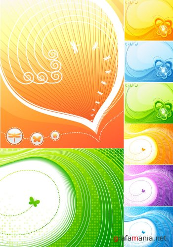 Mixed Vector - Hot Backgrounds