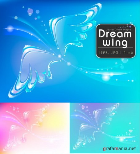Digital Dream Utopia - Dream Wings