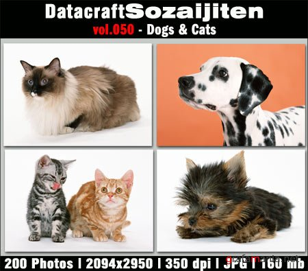 Datacraft Vol.050 - Dogs & Cats