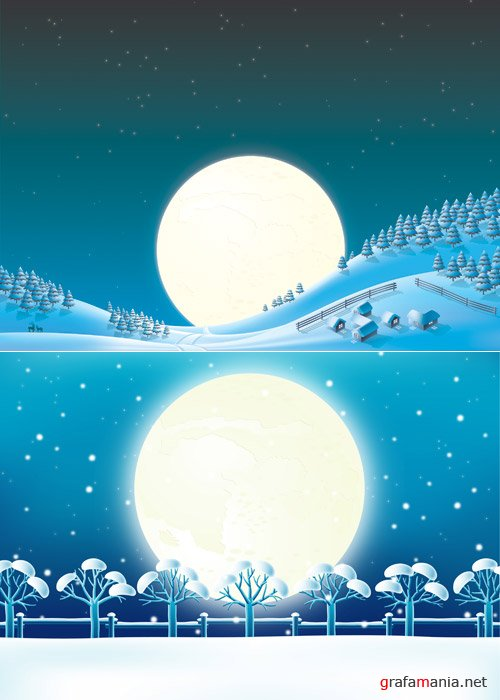 ArtMania X-Mas 02 - Backgrounds