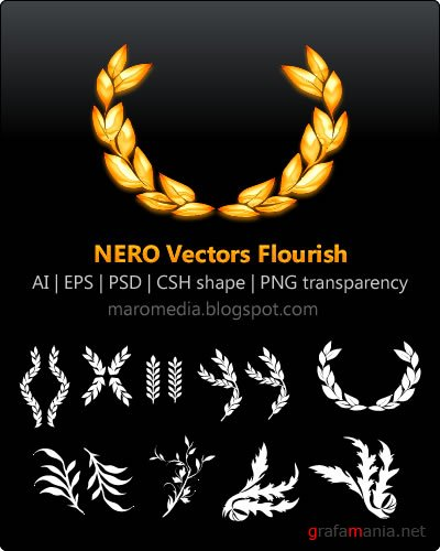 NERO Vectors Flourish