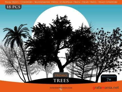 Trees Promo Pack Brushes