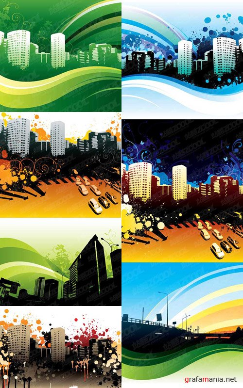 iStock - Vector City Backgrounds