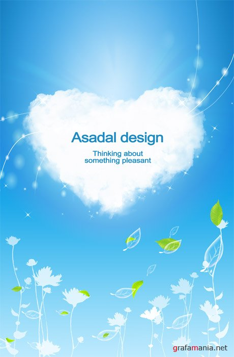 Template for PhotoShop - Asadal Design - Heart
