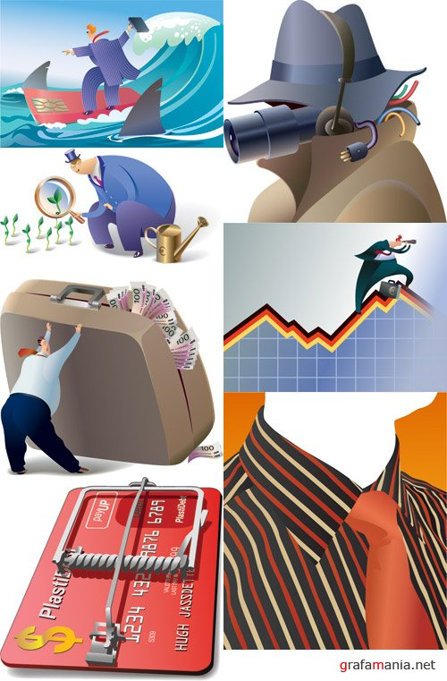 Amazing SS - Business Conceptual Vectors