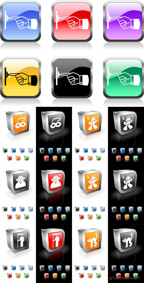 iStock Assorted vector Icons