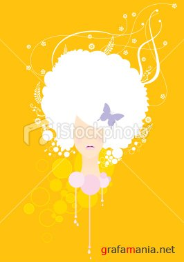 Stock Vector: fashion sheila