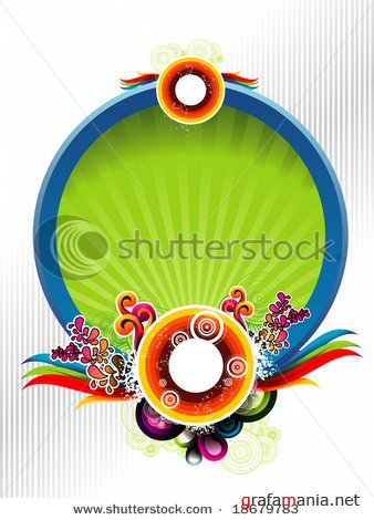 Circles vector background 3