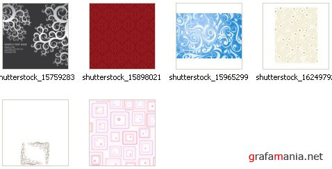 ShutterStock - Seamless Patterns II