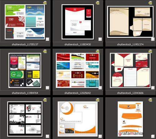 Amazing SS - Corporate Identity & Visiting Card Designs