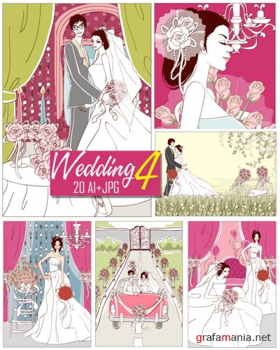 Wedding Vector Collection