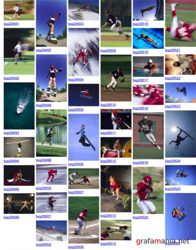BrandX Pictures X-037 - Sports In Motion