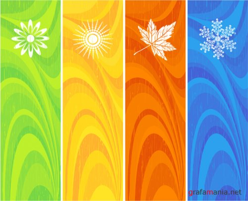 Vector iStockPhoto Colored Banners
