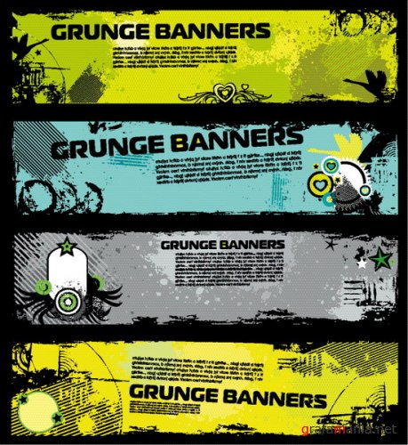 Grunge Banners Pack