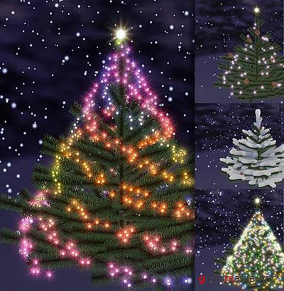 3D Christmas Tree Screensaver