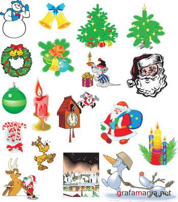 Christmas WMF Clipart