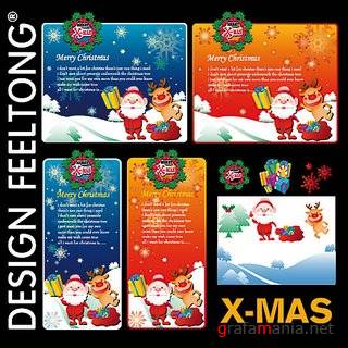 Design Feel Tong - Xmas Vectors