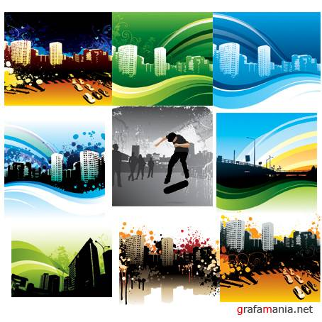 Vector Backgrounds - City