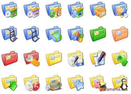 Color folders icons