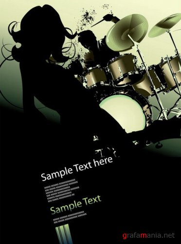 Vector - Music sample box by shutterstock