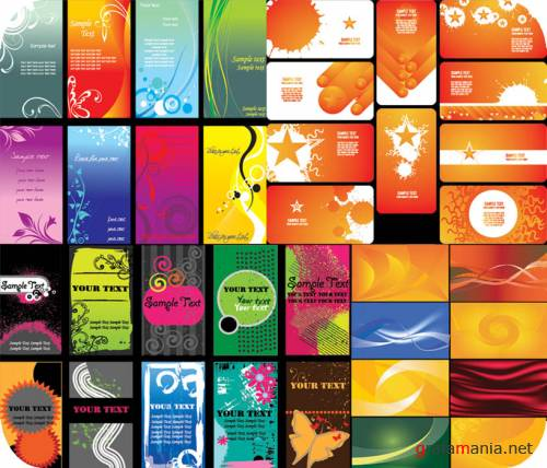 Vector Business Cards 7