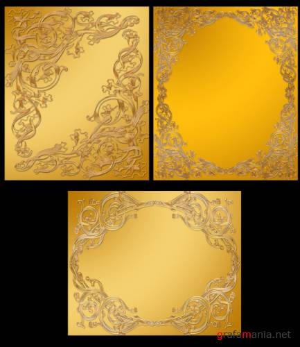 Frame Gold for PhotoShop