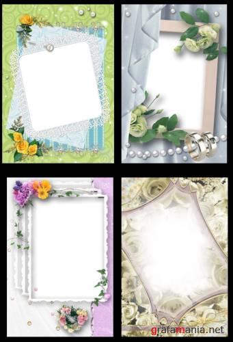 Frame Wedding for PhotoShop